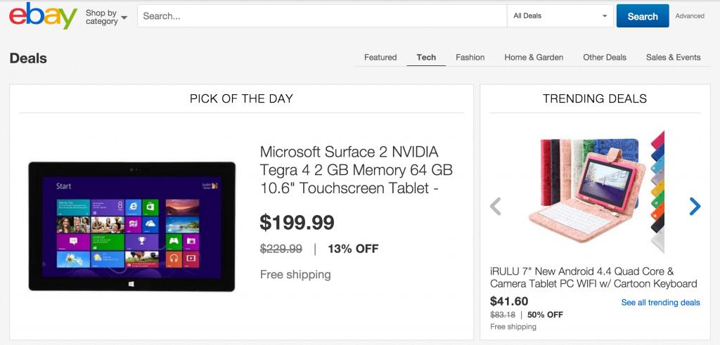 Ebay Daily Deal